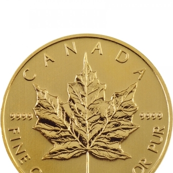 Set of Maple Leaf coins